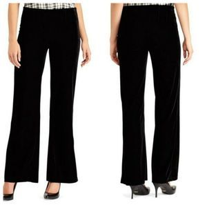 NWT Chaps Perfectly Polished Stretch Velvet Pants